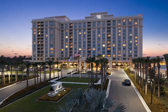 The Waldorf Astoria hotel in Orlando.
