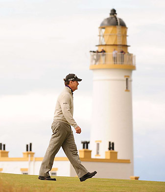 Watson nearly won his ninth major championship at the 2009 British Open at Turnberry.