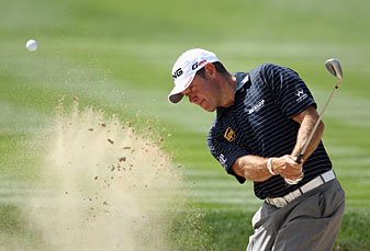 Lee Westwood made seven birdies and two bogeys.