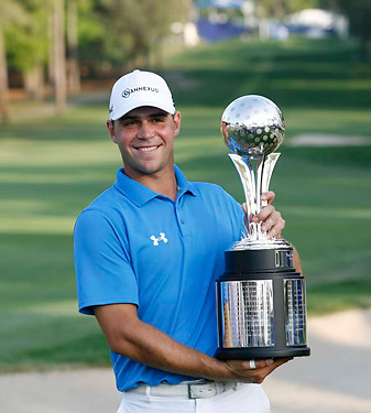 Gary Woodland captured his first PGA Tour victory last year at the Transitions.