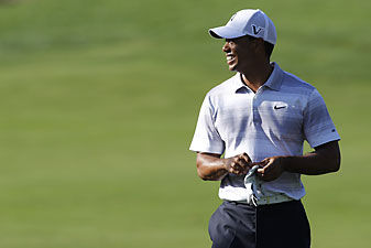 Tiger Woods has been working on swing changes for more than a year.