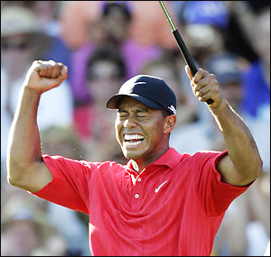 Tiger Woods is the only player ever to hold all four major championships at once.