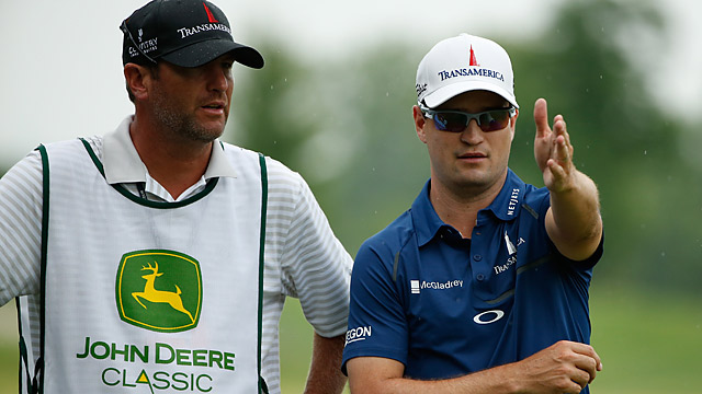 Zach Johnson is eyeing his second win in three years at TPC Deere Run.