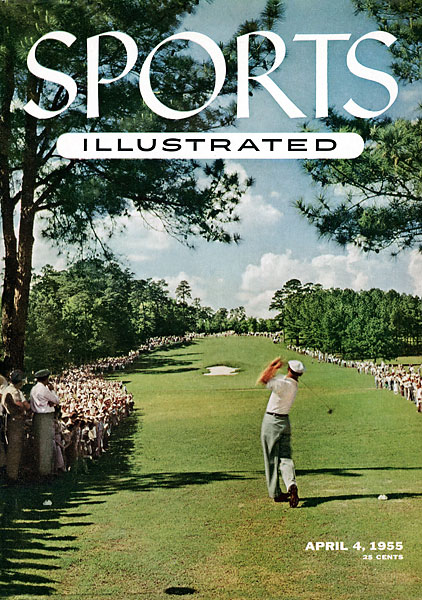 Hogan was on the cover of the April 4, 1955, cover of Sports Illustrated for its Masters preview.