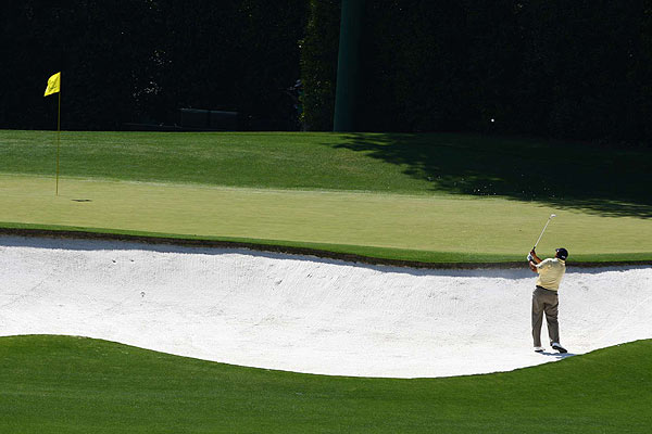 Third-round co-leader Cabrera looked shaky at times on the front nine, with bogeys on the fourth and fifth holes.
