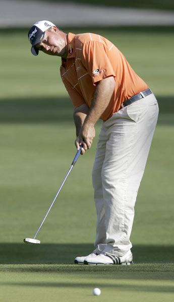 Defending champion Boo Weekley is five strokes off the lead after an opening 69.