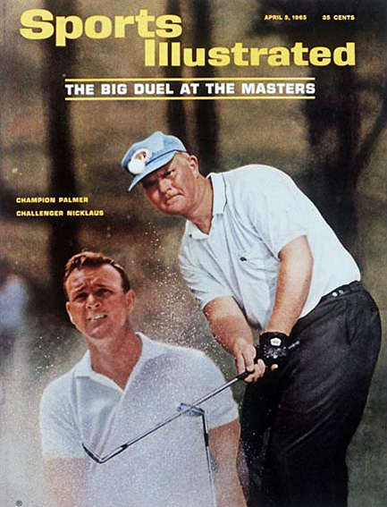 Jack Nicklaus and Arnold Palmer April 5, 1965