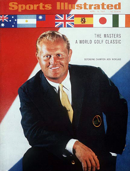 Jack Nicklaus April 10, 1967