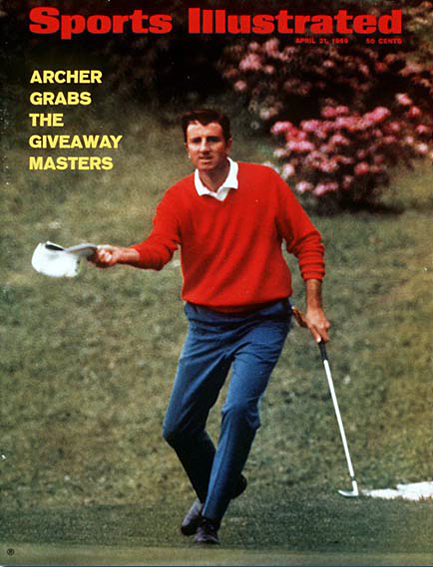 George Archer wins the 1969 Masters April 21, 1969