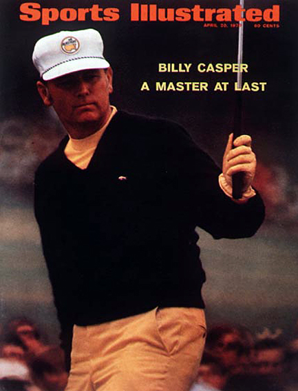 Billy Casper wins the 1970 Masters April 20, 1970