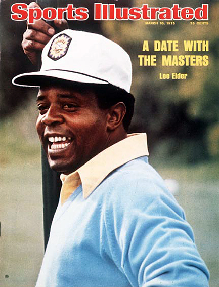 Lee Elder becomes first African-American to qualify for the Masters March 10, 1975