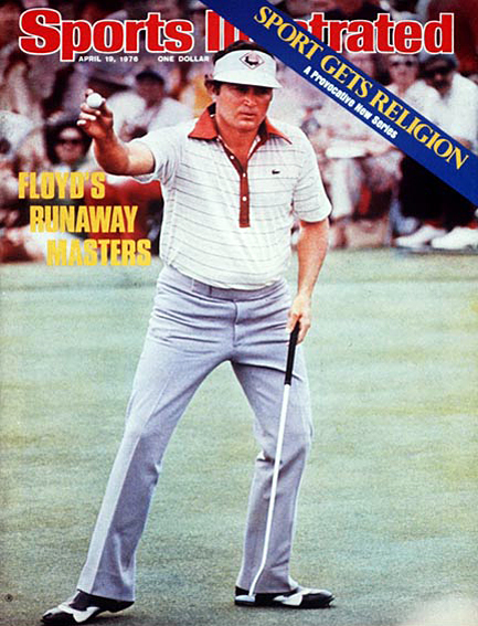 Raymond Floyd wins by eight strokes April 19, 1976