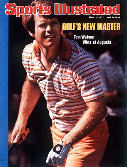 Tom Watson beats Jack Nicklaus by two strokes April 18, 1977