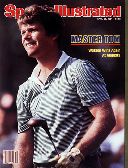 Tom Watson wins second Masters title April 20, 1981