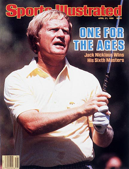 Jack Nicklaus wins sixth green jacket April 21, 1986