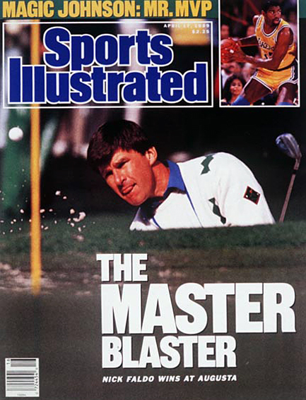 Nick Faldo wins 1989 Masters April 17, 1989