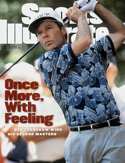Ben Crenshaw wins second Masters title April 17, 1995