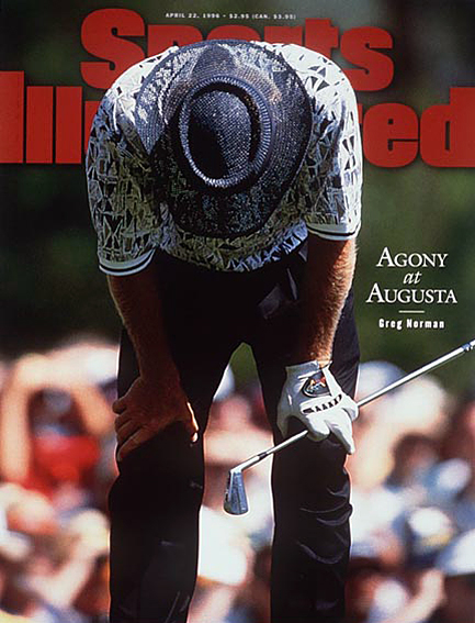 Greg Norman loses six-stroke lead; Faldo wins third Masters title April 22, 1996