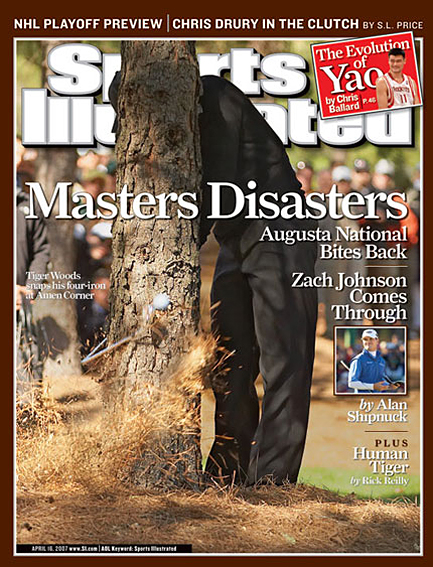Zach Johnson wins the 2007 Masters April 16, 2007
