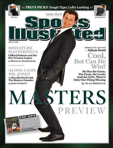 Masters Preview: Adam Scott April 3, 2008