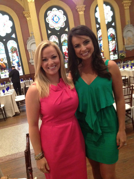 @KandiMahan: At A heart fore fashion event in Augusta! :) with Amber Watney
