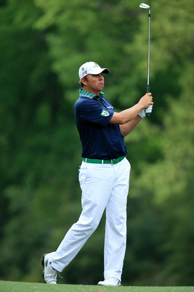 BEST: BO VAN PELT                       Van Pelt is sporting the perfect look for a round at the Masters: white pants and a polo with a hint of Masters green. He looks pressed and preppy, but the plaid collar gives the look a fun and funky edge. A+!
