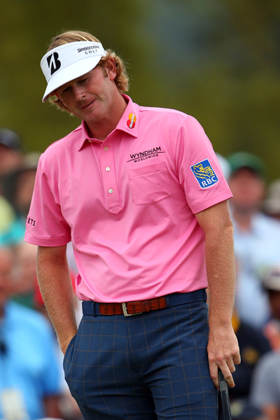 Golf Magazine's Jessica Marksbury weighed in on the pros' fashion choices at the 2013 Masters.                       BEST & WORST: BRANDT SNEDEKER                       I can't help but award Snedeker the only split decision of the week. In theory, his look is unimpeachable—a lovely pairing of a Peter Millar polo and pants. The problem is the outfit's timing. Can you imagine how that shade of pink would look underneath a green jacket? Exactly.