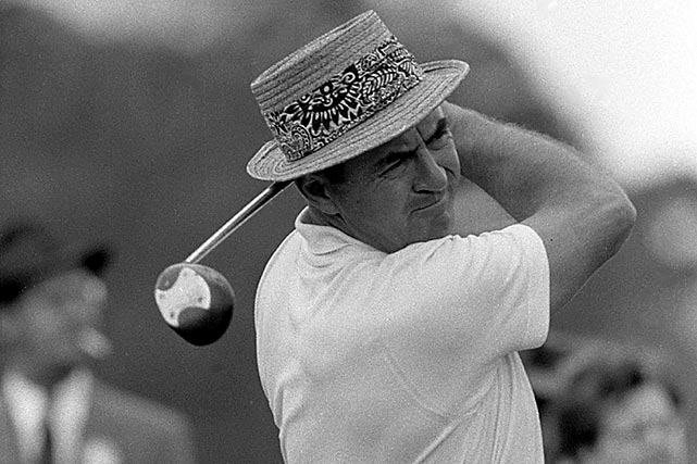 In 1957, Sam Snead lost a three-stroke lead and finished in second place.