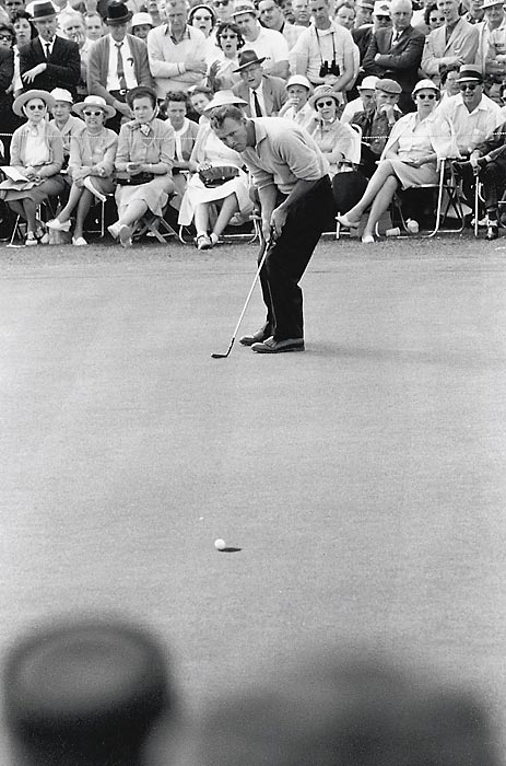 In 1960, Palmer won wire-to-wire for only the second time in Masters history.
