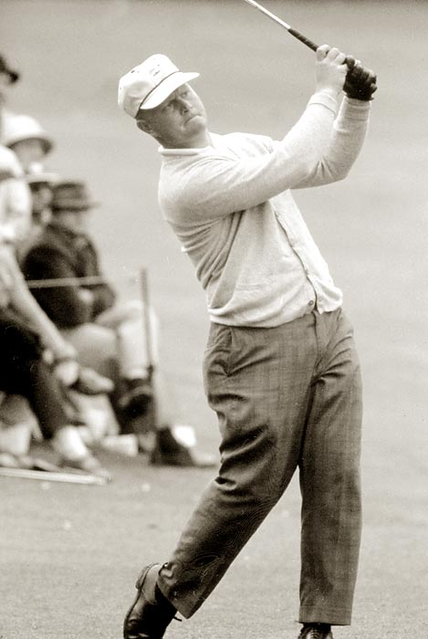 Nicklaus tied for 15th at the 1962 Masters.