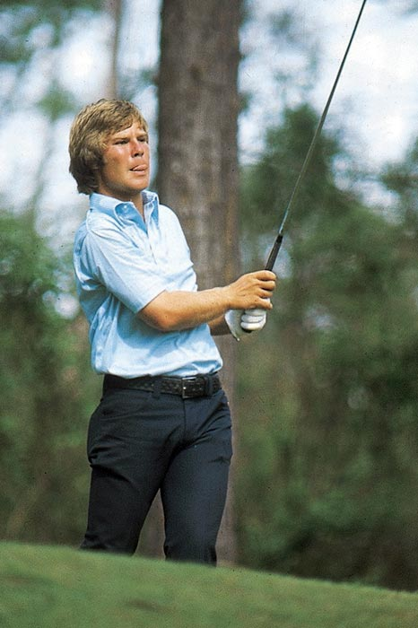 In 1973, Crenshaw tied for 24th in his second Masters.