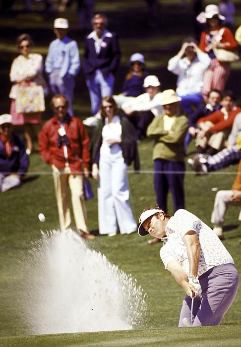 Raymond Floyd cruised to his second major title at the 1976 Masters.