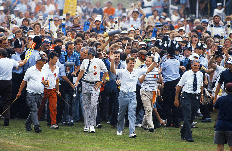At Muirfield in 1980, Watson won his third Open Championship, beating Lee Trevino by four.