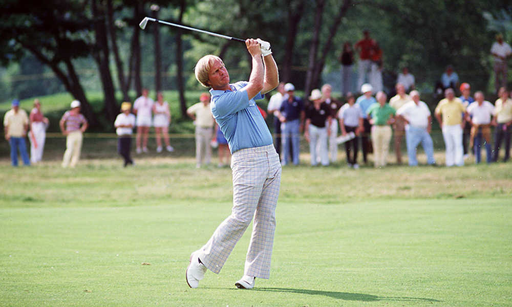 Jack Nicklaus, 1980 PGA Championship: 7 shots                             Nicklaus won the 1980 PGA Championship by seven shots, a record for the tournament that stood for more than thirty years.  Read More...