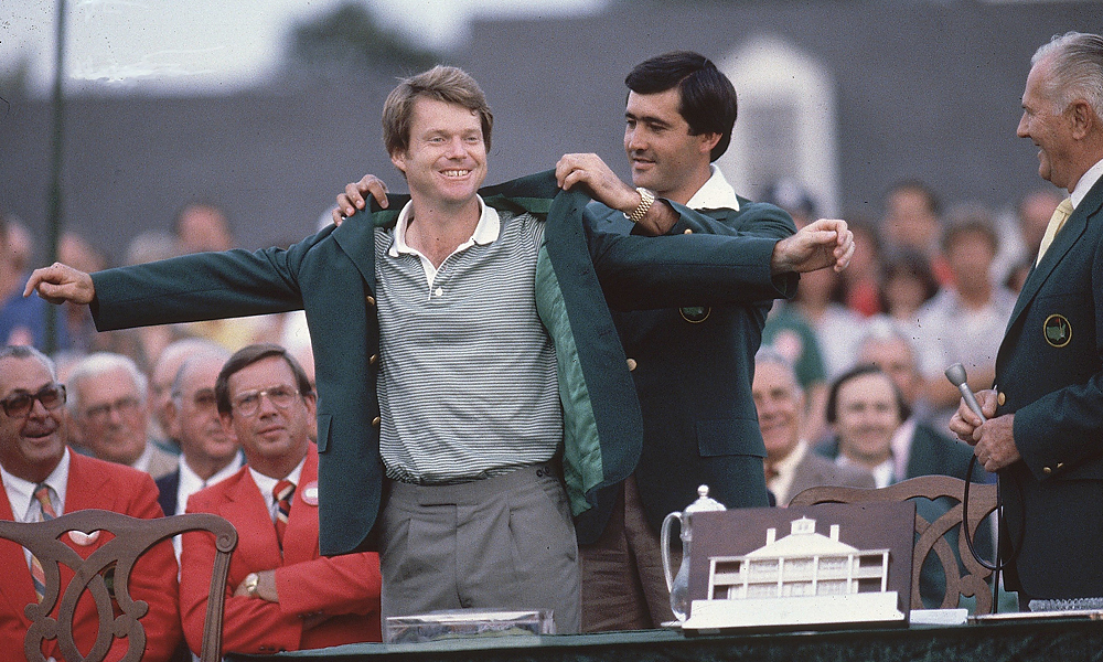 Watson is one of sixteen golfers to win multiple Masters titles.