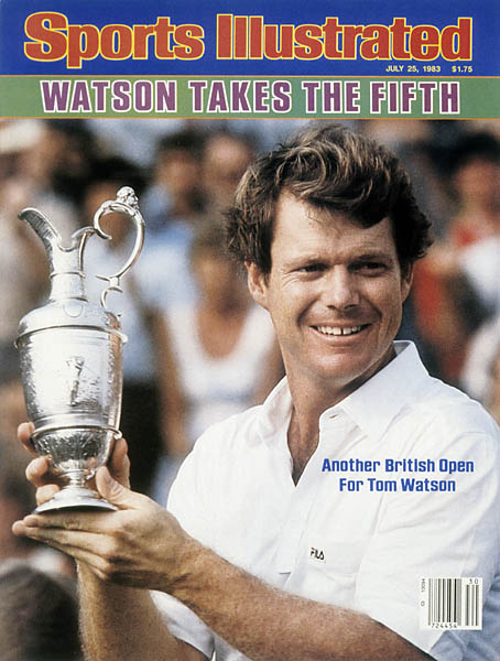 The next year, he claimed his fifth British -- and eighth and final major -- at Royal Birkdale. With five Open titles, Watson is tied for the second most all time, trailing only Harry Vardon's six.
