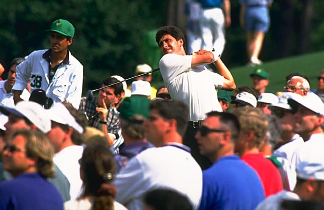 In 1994, Jose Maria Olazabal joined Ballesteros as the only Spaniards to win the Masters.