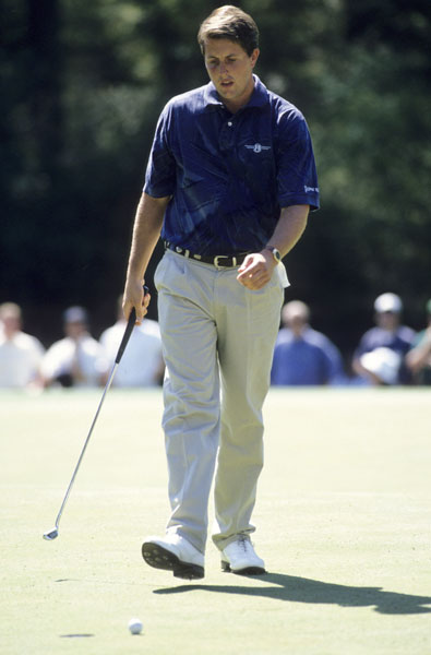 Mickelson finished at eight under par at the 1995 Masters, tying for seventh place in his third appearance.