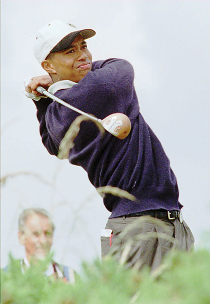 Tiger Woods made his British Open debut in 1995 as an amateur at St. Andrews. He finished tied for 68th.