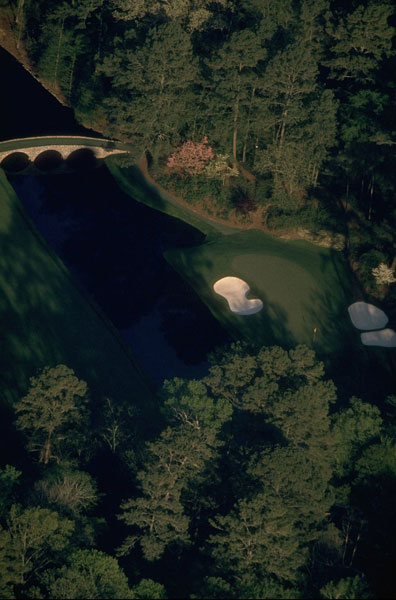 1996: The 12th hole at Augusta National.
