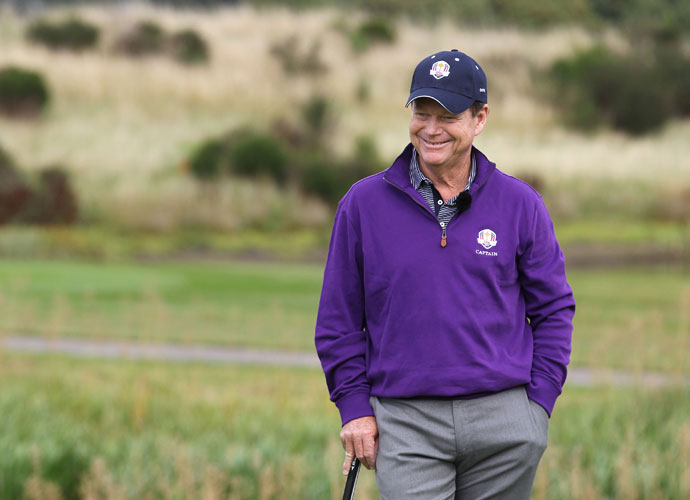 "1. Captain Tom Watson                             With all his success in the Open, he's practically an honorary Scotsman. This will greatly confuse the locals, who aren't going to like cheering against old Tom. What's more, he's already led one squad (1993, at the Belfry) to victory in the UK, and that was against a legend-stacked Euro team. (Sorry, Victor Dubuisson. You may have Seve-like moments, but you're no Seve.) Here's how badly Watson wants to win. At a pretournament banquet in '93, Euro player Sam Torrance asked Watson to sign Torrance's dinner menu. Watson said no, touching off an international incident. The U.S. won 15-13, and Watson said, ""This is the best feeling I've ever had in golf."" He'll say it again."