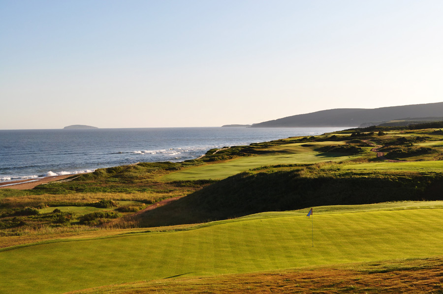 The course was developed by Bandon Dunes's Mike Keiser and Ben Cowan-Dewar.