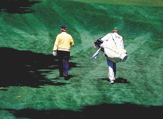 Nicklaus made the cut at the Masters for the final time in 2000.