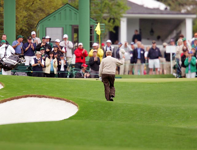 Nicklaus played in his final Masters in 2005.