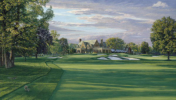Winged Foot Golf Club (2006), 9th Hole                           Winner: Geoff Ogilvy                           Course Finder Profile