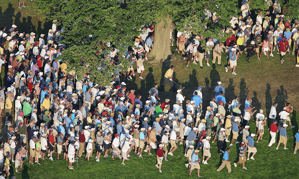 Mickelson made a heartbreaking double bogey on the 18th hole in 2006 at Winged Foot.