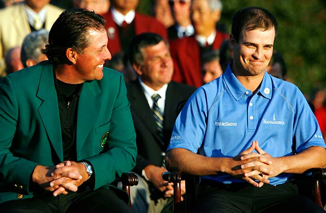 Zach Johnson's final score of 289 in 2007 tied the highest winning total ever at the Masters.