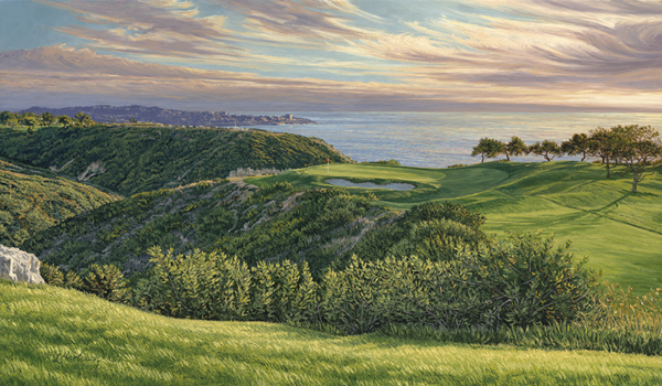 Torrey Pines Golf Course (2008), 3rd Hole                           Winner: Tiger Woods                           Course Finder Profile