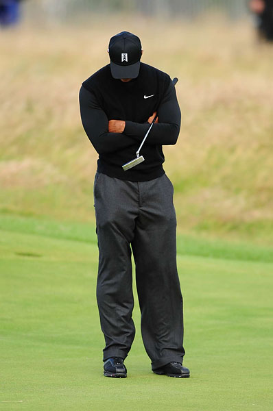 Woods missed the cut in 2009 at Turnberry.
