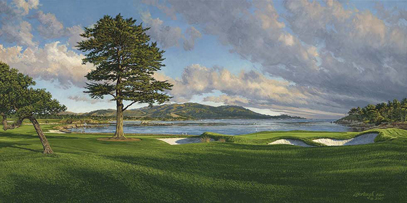 Pebble Beach Golf Links (2010), 18th Hole                           Winner: ?                           Course Finder Profile